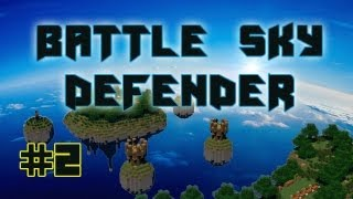 Minecraft | Battle Sky defender | Map PVP 4 vs4 | Remix Bataille de la terre du Cube