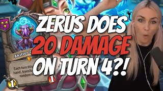 ZERUS TURNED INTO WHAT?! TIME TO DESTROY - Hearthstone Battlegrounds