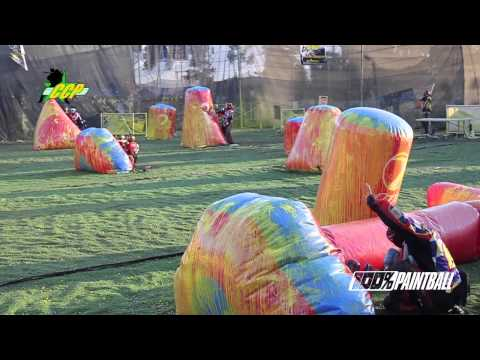 100% Paintball ™ - Final D2 CCP DYE 2013  Bogota - DC Army vs PPC