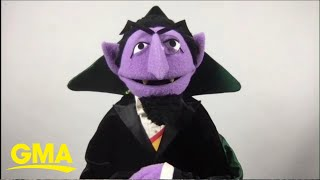 The Count counts down to Sesame Street's first podcast