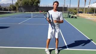 How to Keep Your Head Steady At Contact When Returning Serve (Your Return - Episode 26)