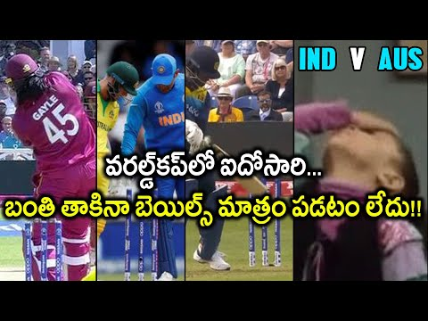 ICC Cricket World Cup 2019 : David Warner's Lucky Escape During India V Australia Match || Oneindia