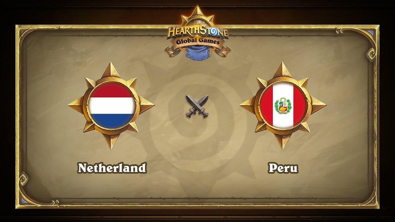 Нидерланды vs Перу | Netherland vs Peru | Hearthstone Global Games (17.05.2017)