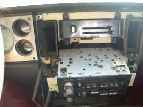 1985 Chevy S10 Radio Removal - YouTube