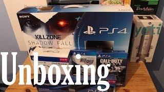 Sony PlayStation 4 (PS4) Unboxing - Killzone Bundle (UK)