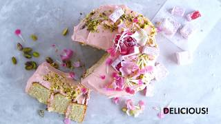 You HAVE to try this rose &amp pistachio layer cake  Food  Woolworths SA