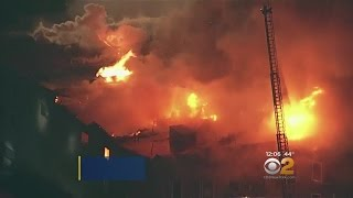 Major Fire In Oakland, Calif. Building