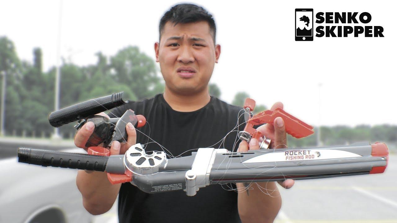 Rocket Fishing Rod Damage Testing
