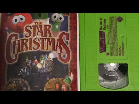 Veggietales The Star Of Christmas Vhs Opening to Veggie Tale...