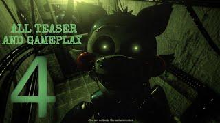 ALL FNaC 4 Teaser & Gameplay