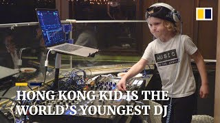Meet world's youngest club DJ Archie Norbury: A four-year-old Hong Kong kid