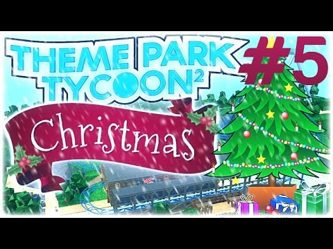 Christmas Theme Park.Roblox Theme Park Tycoon 2 Best Park Christmas Time New Stuff Part 5
