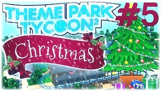 Roblox Theme Park Tycoon 2 - Best Park | Christmas Time!!! (New Stuff) Part #5