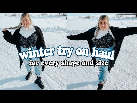 A WINTER OUTFIT VIDEO FOR EVERY SHAPE AND SIZE *yes that includes you*