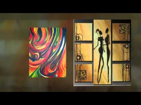 Abstract Oil Paintings For Beginners