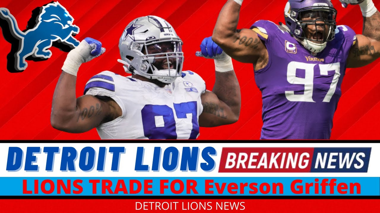 Everson Griffen: Cowboys analysts tell what the Lions are getting in ...
