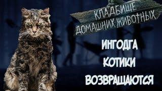 Кладбище домашних животных - обзор серии фильмов / Кладбище домашних животных 2019