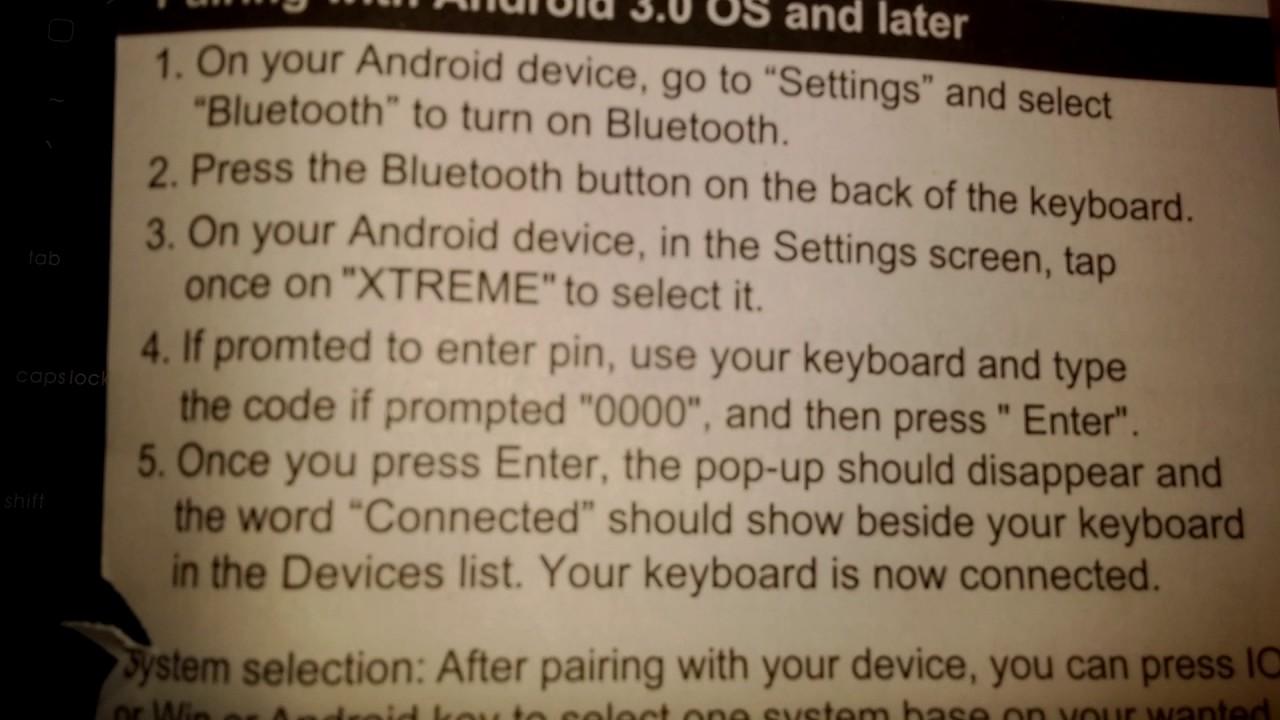 Xtreme bluetooth manual