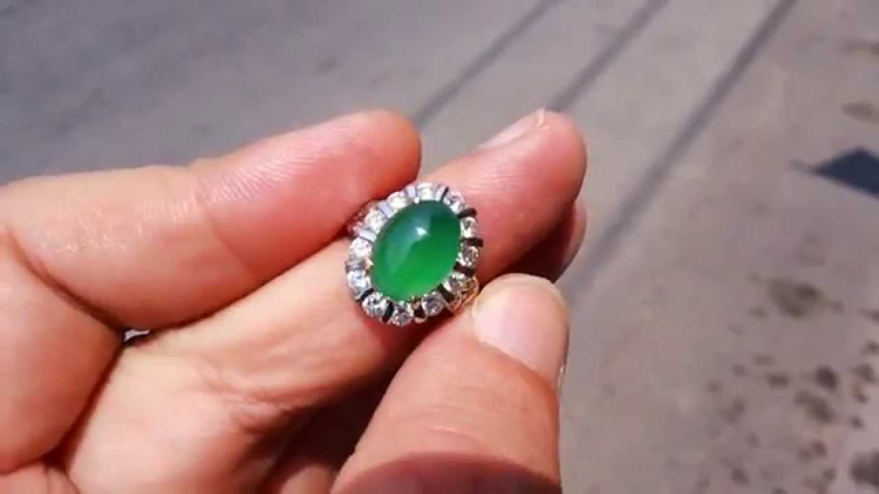 Jadeite Lady Ring (AJR-936) Type A [HD] - YouTube