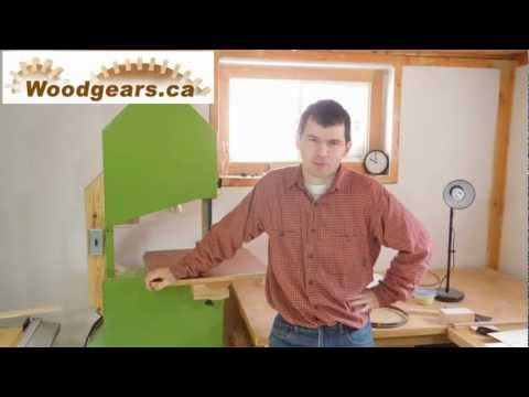 Why bandsaw blades whine
