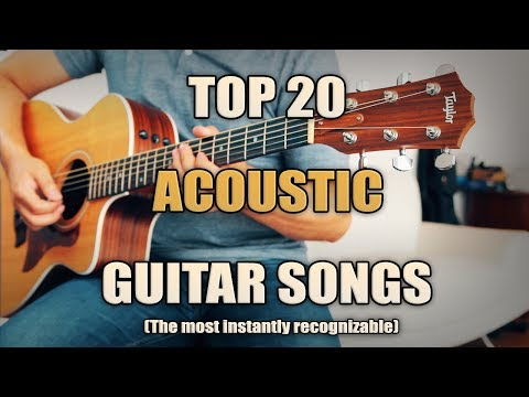 Top 20 Best Acoustic Songs  Intros