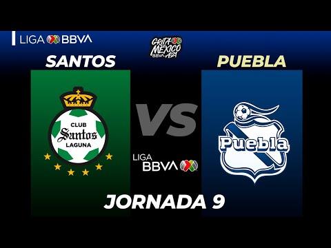 Santos Laguna Puebla Goals And Highlights