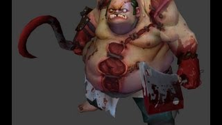 Dota 2 Pudge vs Pudge