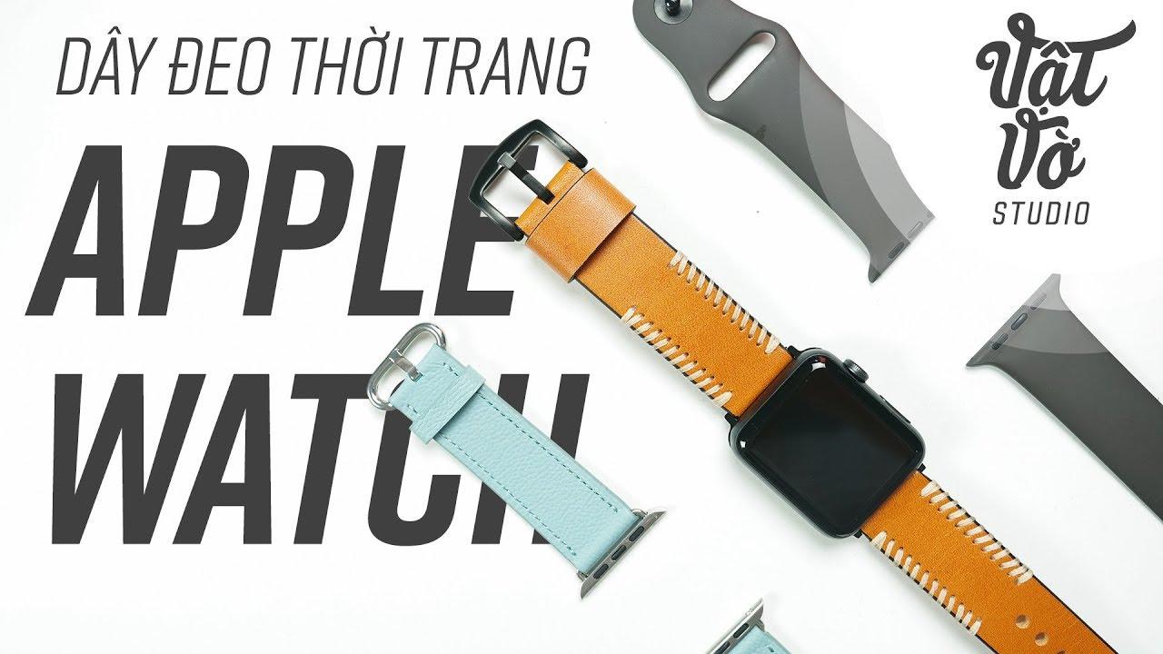 Dây đeo thời trang cho Apple Watch
