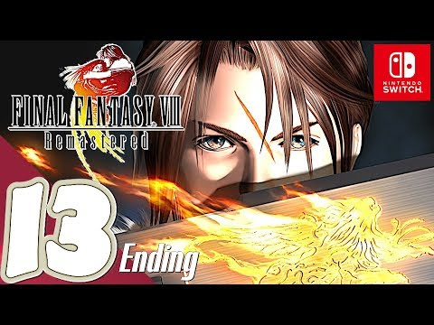 Final Fantasy 8 Remastered [Switch] - Gameplay Walkthrough Part 13 Final Boss & Ending