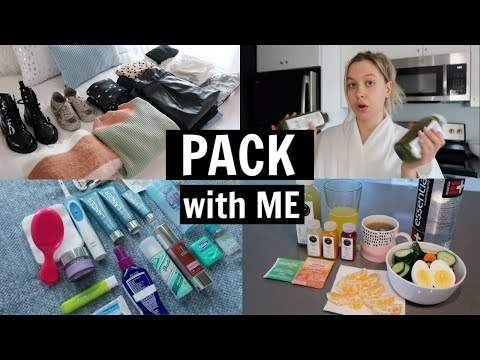 Pack & Prep w/ me for TRAVEL!