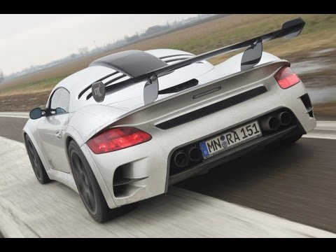 RUF CTR3 Club sport - The fastest Porsche around with a road licence
