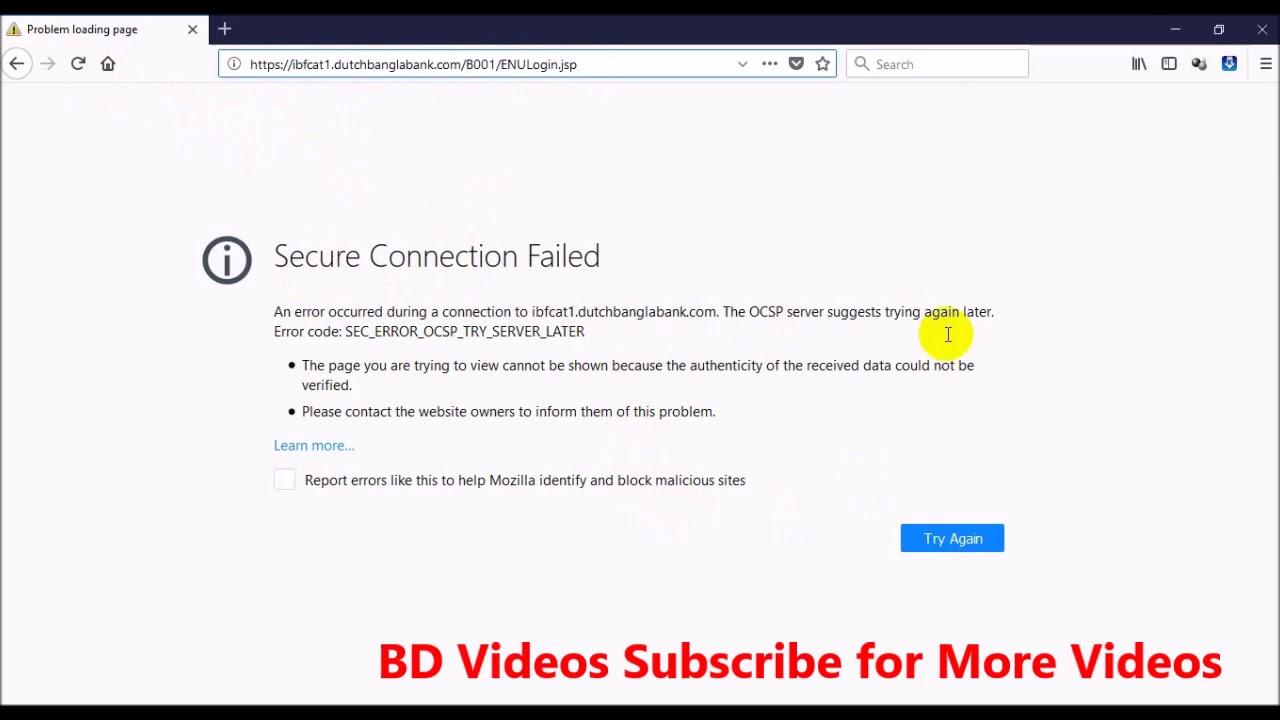 firefox mac connecting update server