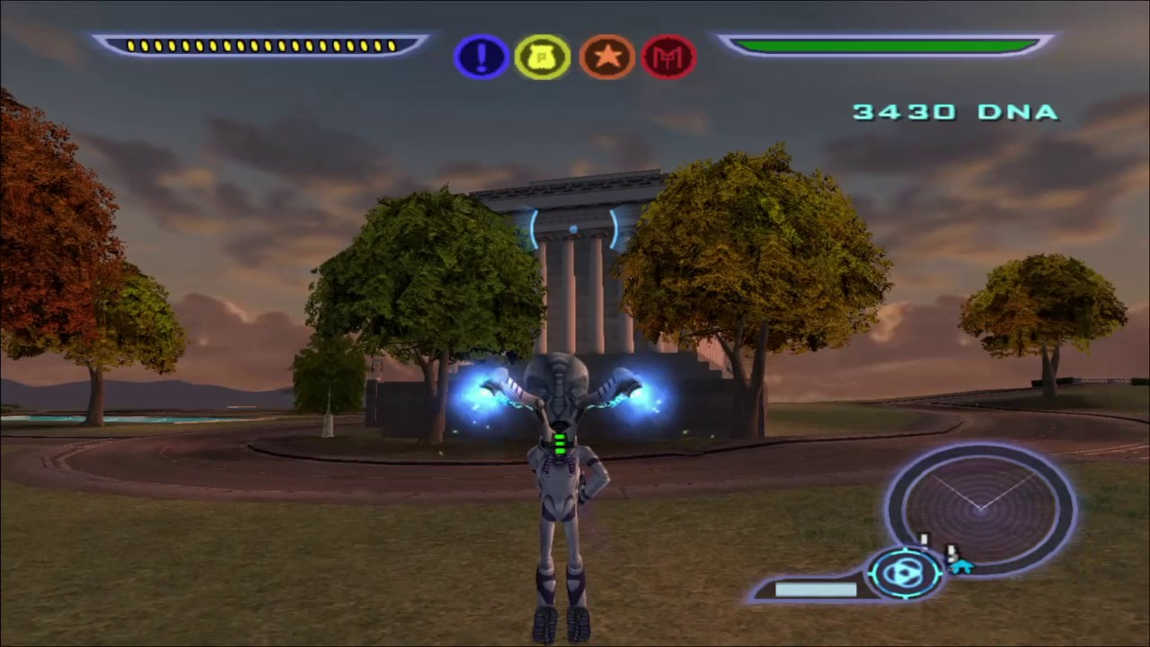 Destroy All Humans! Capitol City Probe Locations