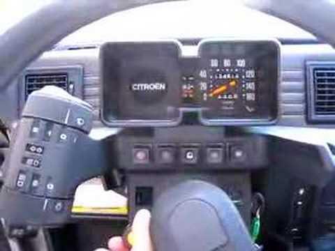 Démarrage à Froid Citroën Visa 652 Cm³