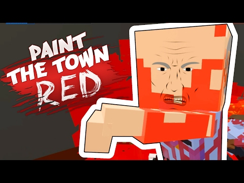 Paint The Town Red - Raiding the Police Station! - Paint the Town Red Gameplay - User Made Levels