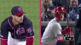 Max Scherzer vs Bryce Harper