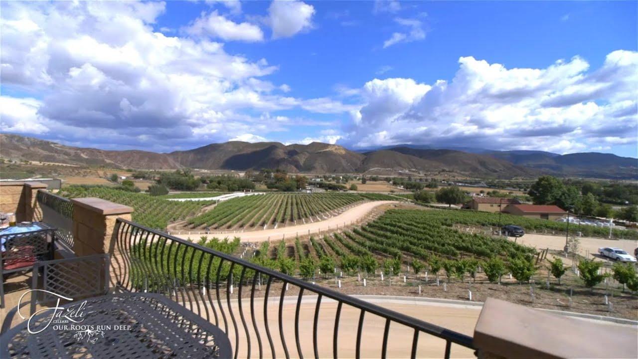 Fazeli Cellars Winery Temecula Winery Southern