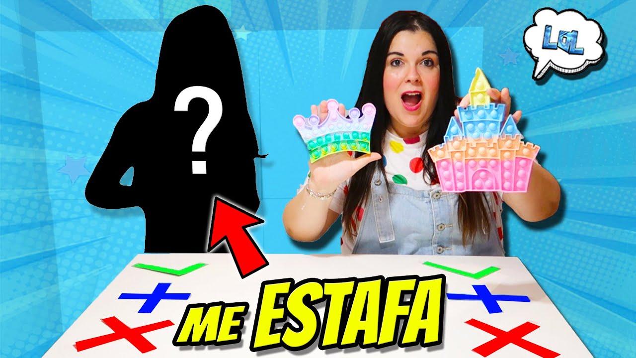 TRADEO DE POP IT FIDGET con MI MEJOR AMIGA (Me Estafa) 😱