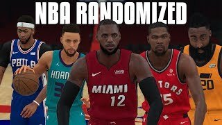 What If The Entire NBA Was Randomized? | NBA 2K18 Gameplay |