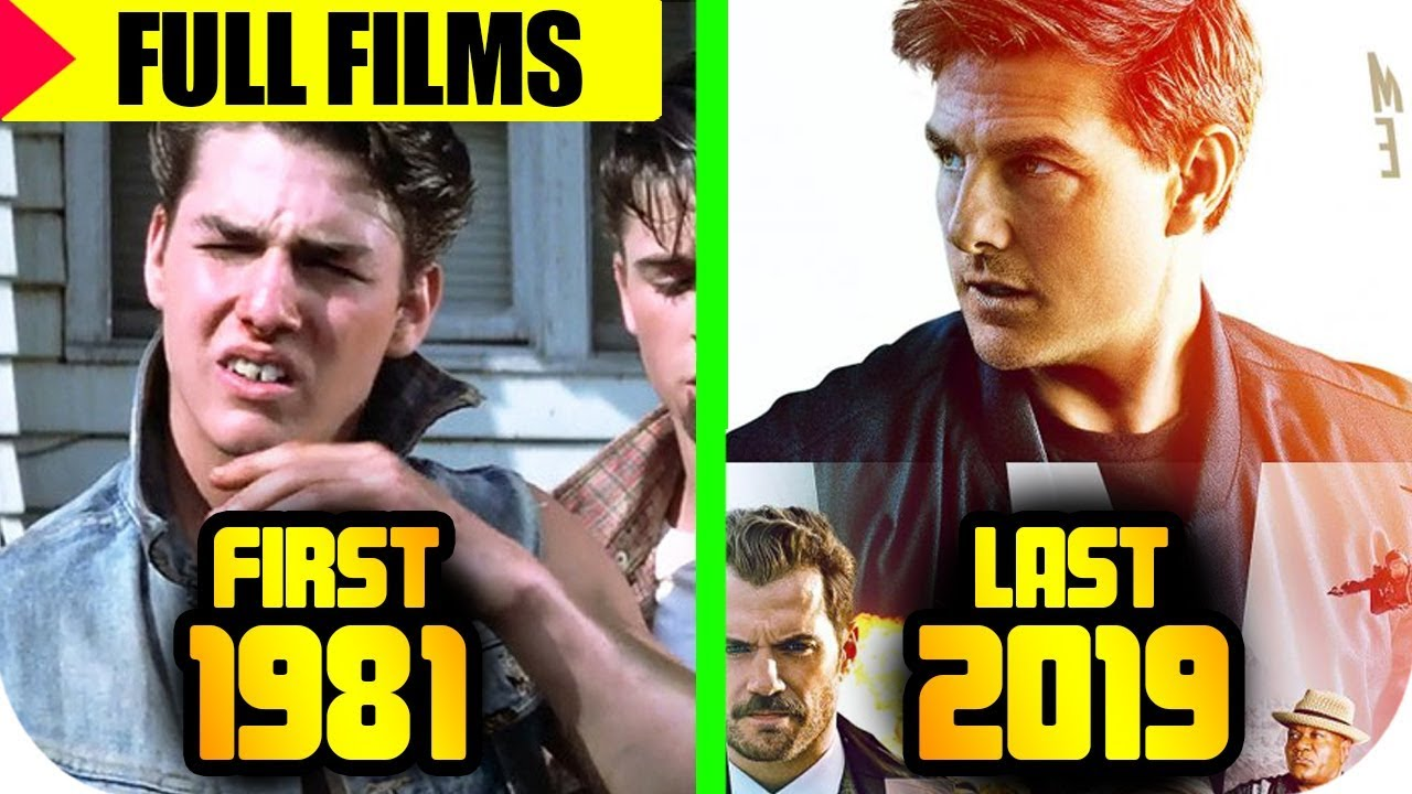 Tom Cruise MOVIES List ᴴᴰ 🔴 [From 1981 to 2018], Tom ...