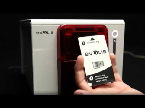 Evolis Zenius ID Card Printer - How to Clean Your Printer