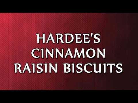 Hardee's Cinnamon Raisin Biscuits   RECIPES   EASY TO LEARN