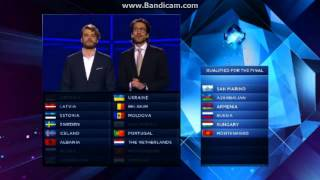 Eurovision 2014: FIRST SEMI-FINAL Qualifiers