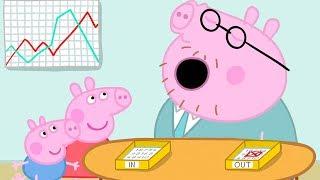 Gambar cover Peppa Pig Français | Peppa Pig Le Bureau de Papa Pig! | Dessin Animé Pour Enfant