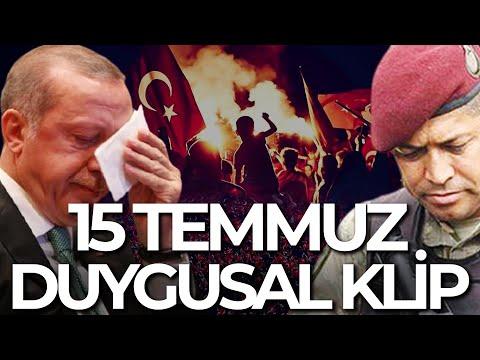 ERDOĞAN'I DUYGULANDIRAN 15 TEMMUZ KLİBİ TÜGEF BEYAZ TV