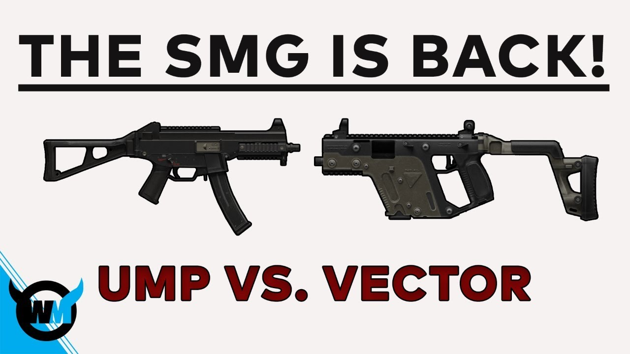 The Smg Is Back Ump Vs Vector Battlegrounds Pubg Update Guide