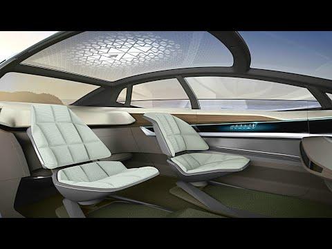 Audi Aicon Concept INTERIOR (High Tech Living Room on Wheels) LUXURY SUV | LEVEL 5 Autonomous Car
