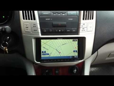Pioneer AVIC-Z120BT LEXUS RX330 NAVIGATION bluetooth ipod