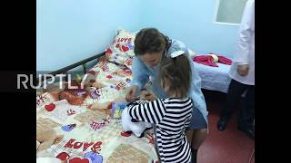 Russia: Children's rights commissioner visits feral girl in Moscow hospital