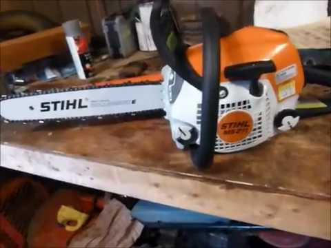 the new toy stihl ms 211 youtube. Black Bedroom Furniture Sets. Home Design Ideas